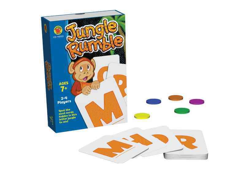 Jungle Rumble Card Game, Grades 2 - 5 By Carson-Dellosa Publishing Company, Inc. (COR)